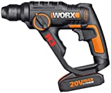 WORX WX390 20V 3-in-1 H3 Max Lithium-Ion Rotary Hammer with Powershare platform
