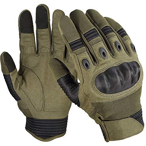 Andyshi Herren Handschuhe Outdoor Voll Finger Harte Knöchel Motorrad Touchscreen Militärische Taktische Handschuhe Fahren Klettern Arbeits Touchscreen Für Handyhandschuh -