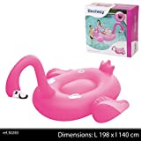 Bestway Supersized Flamingo Rider (175x173 cm), Extragroßes Schwimmtier, Pink