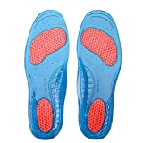Generic Silicone Gel Orthotic Arch Support Sport Shoe Massaging Insoles Insert M