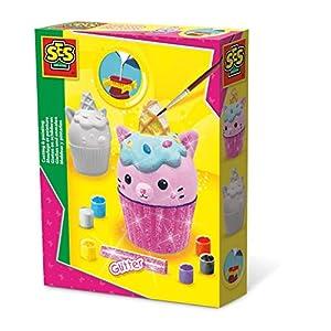 SES Creative Moldear y Pintar - Cupcake Unikitty - Kits de Pintura y Modelado para niños (6 Pieza(s), Multi, 5 año(s), 150 mm, 40 mm, 200 mm)
