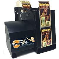 START International LD8050-2EU Dispensador de Etiquetas Eléctrico de Alta Velocidad, Ancho Máximo de 127 mm, Longitud Máxima de 305 mm, Negro