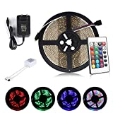 ALED LIGHT Multicolor Tira de Luz LED Impermeable...