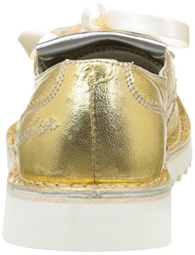Bunker ker 32, Scarpe Stringate Donna Oro (Oro (Gold))