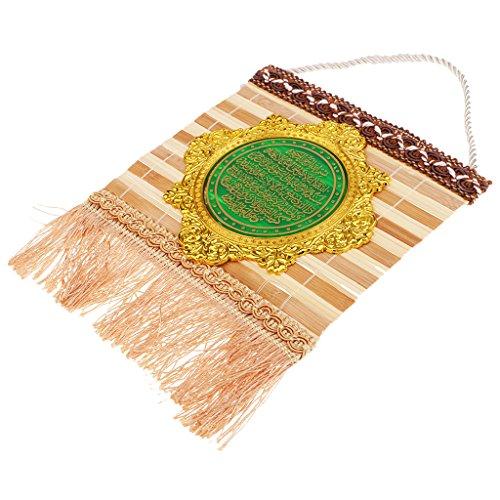 Sharplace Klassische Muslimische Türkisch Blaue Augen und Mond Hand Hause Ornamente/Auto Hängen - Farbe 4, 21x16cm