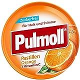 PULMOLL Hustenbonbons Orange+Vit.C zuckerfrei 50 g