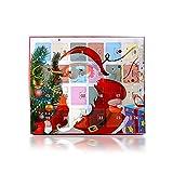 Seasons Shop 24 Tage Adventskalender Weihnachten mit Armband Set 2019 Countdown-Weihnachtskalender mit Armband Collier Set DIY-Modeschmuck Geschenk für Mädchen Sweetie