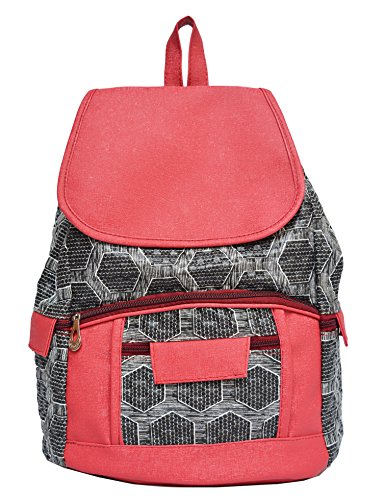 Vintage Women'S Backpack Handbag(Red,Bag 334)  available at amazon for Rs.310