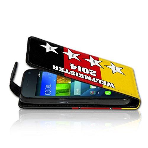 Vertikal Flip Style Handy Tasche Case Schutz Hülle Schale Motiv Etui Karte Halter für Apple iPhone 5 / 5S - Variante VER23 Design2 Design 3