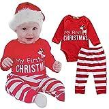 URSING Weihnachten Neugeboren Baby 2Stk Outfits