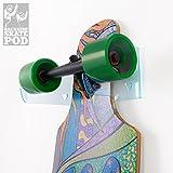 WANDKINGS Skateboard Wandhalterung - Backside Variante - Wähle Eine Farbe - Blau