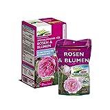 Cuxin Bio Rosendünger Verschiedene Packungen für ca. 25-160 Pflanzen⎜auch für blühende Blumen⎜+gratis Bodenanalyse (1,5 Kg)