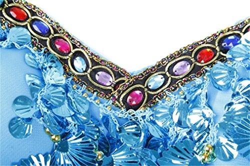 ... Women Sexy Dance Tops Bauchtanz Costume Tribal Sling Halter Crystal Bra-Top  Dancewear Bauchtanz Tops ...