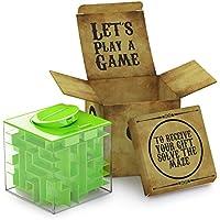 Geldlabyrinth für eine lustige neue Art Geschenke zu verschenken