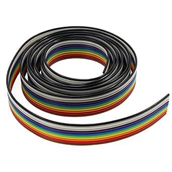 Cavo Piatto Flat Cable 3M 10 poli con 2 connettori femmina lunghezza 15 cm