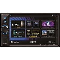 Clarion Navigation Auto Radio 2 DIN DVD USB HDMI mit Bluetooth passend für Mercedes S Klasse W220 alle incl Einbauset