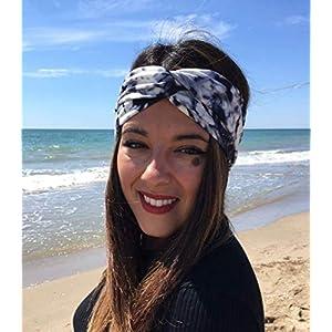 Tie dye Stirnband Turban Haarband damen handmade