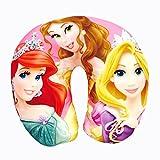 #6: Pink Three Princess Neck Pillow