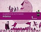 Cuaderno de música. 1 Primaria. Savia - 9788467570632