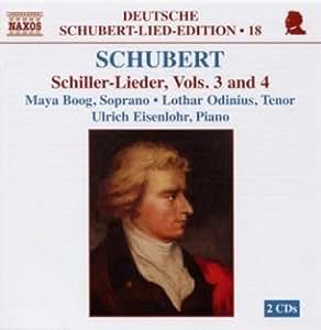 Schiller-Lieder Vol. 3+4