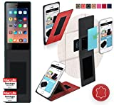 Siswoo A4 Plus Chocolate Hülle Cover Case in Rot Leder -
