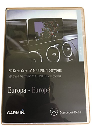 Mercedes Kartenmaterial V9 MAP 2017, 2018, Mercedes A 213 906 99 05 Channel Islands Gps