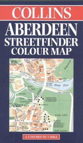 Plan de ville : Aberdeen Streetfinder Map (en anglais)