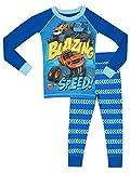 Blaze and the Monster Machines - Pijama para Niños - Blaze y Los Monster Machines - Ajuste Ceñido -3 - 4 Años