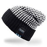 Rotibox Wireless Bluetooth Beanie Knit Hat Music Cap with Stereo Headphone Headset Earphone