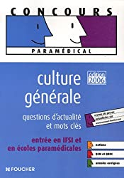 Culture générale : Questions d'actualité et mots-clés entrée en IFSI et en écoles paramédicales