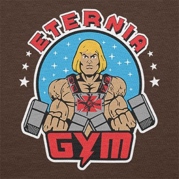 TEXLAB - Eternia Gym - Damen T-Shirt Braun