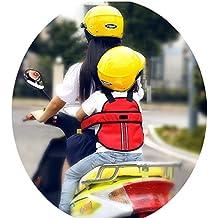 Vine Cintura di sicurezza bambini di sicurezza per moto / auto elettrica / Bicicletta regolabile