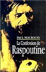 La confession de Raspoutine par Mourousy