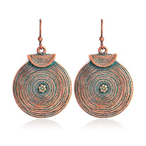 nge Retro einjährig Ringe baumeln Ohrringe Geschenk Idee für Frauen Mädchen (1 Paar) (20 Paar Kostüm Ideen)