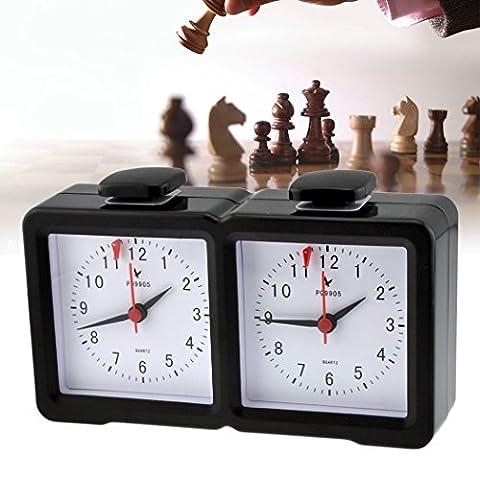 inkint Analog Digital Schachuhren mit Großer Bildschirm Game Schachuhr Multifunktion