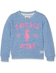 Unbekannt Mädchen Sweatshirt C-Neck Sweater Ocean