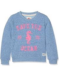 AO 76 C-Neck Ocean, Sweat-Shirt Fille