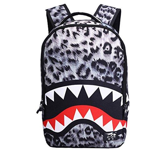 Dunland zaino vintage british style squalo cool borsa zaino multifunzione scuola borsa a tracolla tote borsa zaini casual grigio