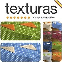 TEXTURAS HOME - Mantel Antimanchas Resinado SEVILLA MIX ( Varios tamaños disponibles ) (RECT. 120X160 CM, CRUDO)