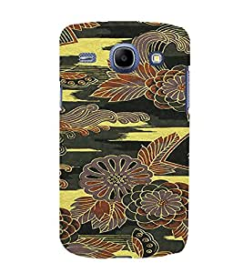 PrintVisa Flower Pattern 3D Hard Polycarbonate Designer Back Case Cover for Samsung Galaxy Core i8262