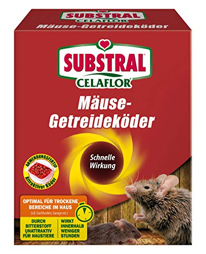 Substral Celaflor MäuseGetreideköder Anwendungsfertiger