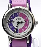 Girls/Kids purple Time Tutor/Teacher Watch-QBD