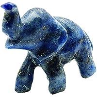 Harmonize Lapislazuli Geschnitzte Elefant Figurine Meditation Balancing Gemstone Statue Reiki Healling Steintisch... preisvergleich bei billige-tabletten.eu