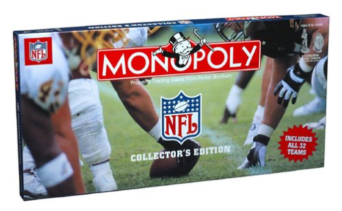 Monopoly – NFL Collector 's Edition (Karten Nfl Football)