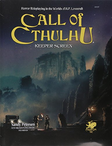 Call Screen (CALL OF CTHULHU KEEPER SCREEN (Call of Cthulhu Roleplaying))