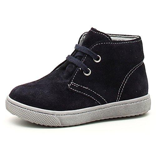 Nero Giardini Júnior, Bebé Blu Sapatos Walker Azul 24 (veludo Indios Blu)