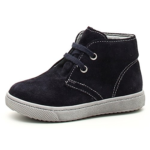 Nero Giardini Junior, Chaussures Premiers Pas pour bébé (garçon) Bleu Bleu 24 - Bleu - Blu (Velour Indios Blu), 26 EU