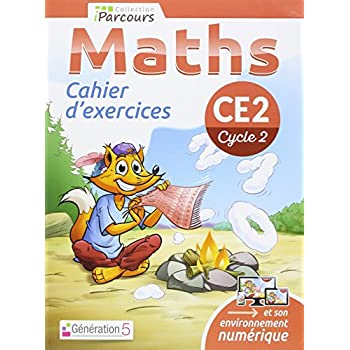 Cahier d'Exercices Iparcours Maths CE2