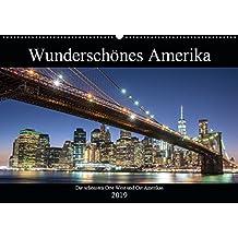 Wunderschönes Amerika (Wandkalender 2019 DIN A2 quer): Die schönsten Orte West und Ost Amerikas (Monatskalender, 14 Seiten ) (CALVENDO Orte)