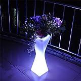 Augrous Moderne LED Lampadaire 16 Couleur Lampe de stand avec Télécommande...